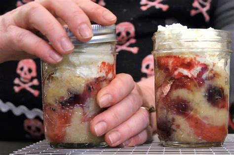 cake in a jar recipe how to bake cakes in a jar chowhound