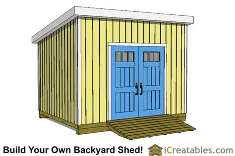 lean  shed plans icreatablescom