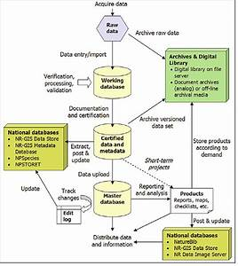 Diagram Of The Typical Project Data Life Cycle