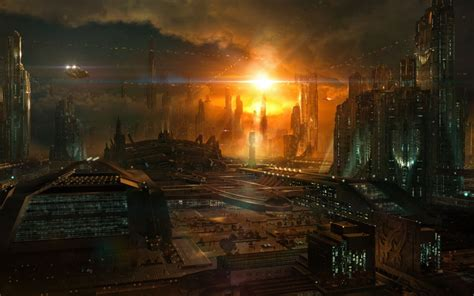 city full hd wallpaper  background image