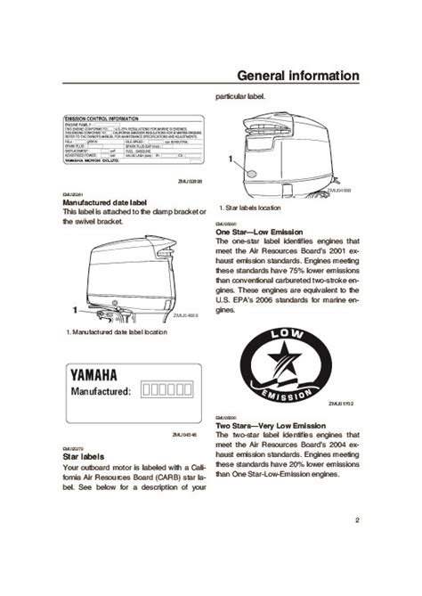 Yamaha Outboard Motor Owner S Manual by 2005 Yamaha Outboard V150d Boat Owners Manual