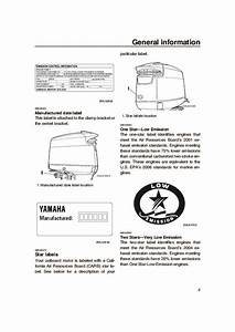 2005 Yamaha Outboard V150d Boat Owners Manual