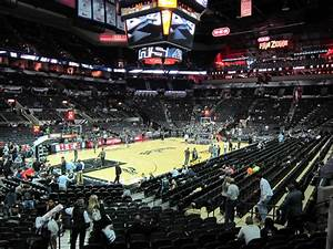At T Center Seating Chart At T Center Section 125 San Antonio Spurs