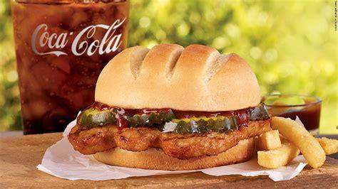 burger kings answer   mcrib