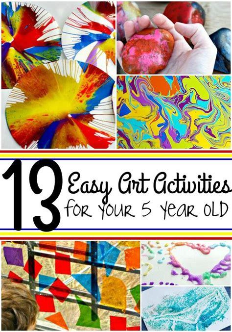 easy art activities    year   years