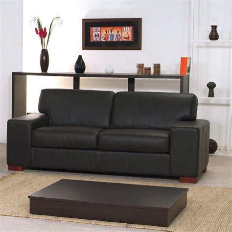 Divano Pelle O Ecopelle - divano moderno tre posti braccioli larghi con cuciture a