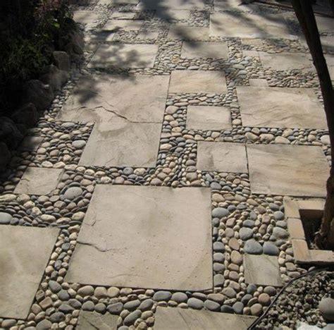 pebble  slate path  meta mosaics wwwmetamosaicscom