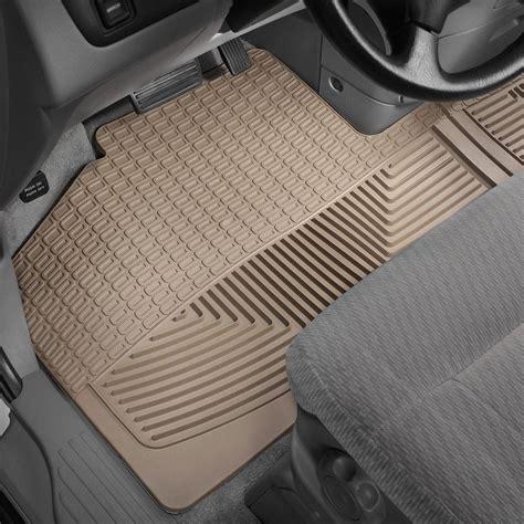 mats floor weathertech weather tan row 1st
