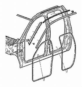 2007 Dodge Ram 1500 Molding  Windshield  Left