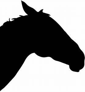 Horse Head Silhouette - ClipArt Best