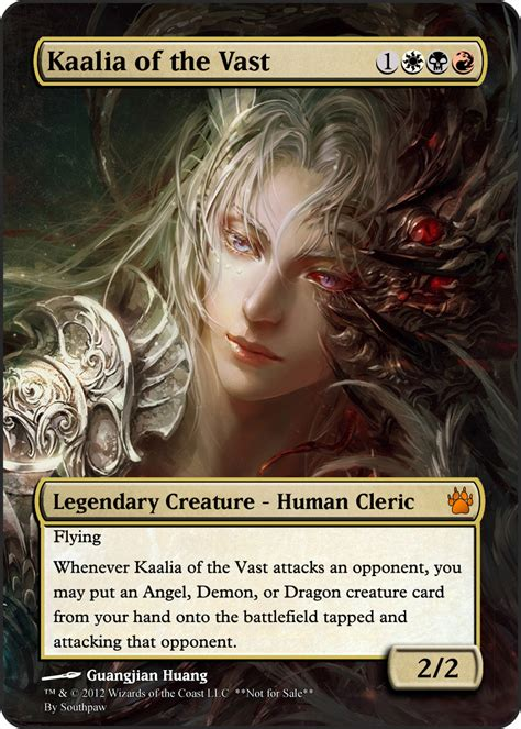 Kaalia Of The Vast Commander Deck 2011 by Southpaw S Profile Member List Mtg Salvation