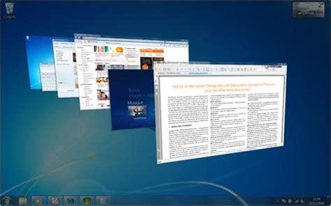 plusieurs bureaux windows 7 windows 7 gérer l affichage des fenêtres assistance orange