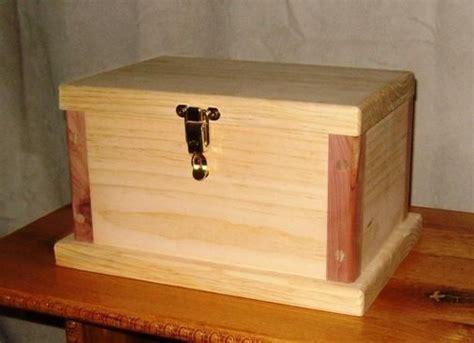 wood keepsake box plans  woodworking projects plans