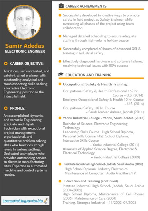 Modern Technology Resume by Best Of Class Resume Writing Sles And Resume Writing Advice From Professional Resume