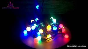 Led Party Lichterkette : led lichterkette party partylichterkette mit bunten leuchten youtube ~ Eleganceandgraceweddings.com Haus und Dekorationen