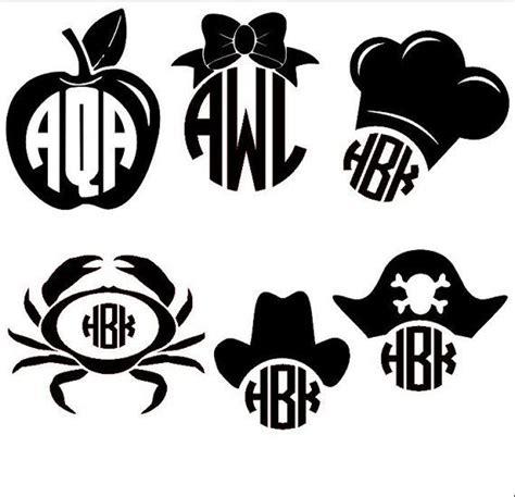 cute monograms silhouette monogram silhouette vinyl silhouette cameo projects