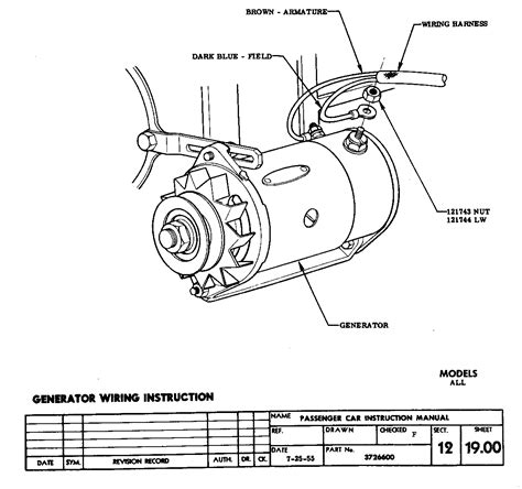 Generator Wiring Connectors Trifive Chevy