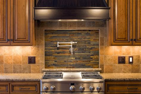 pictures of kitchen backsplashes with granite countertops country kitchen backsplash ideas homesfeed
