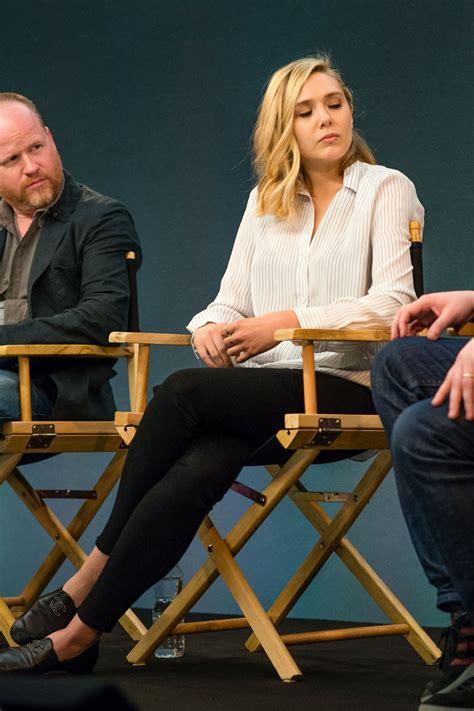 Elizabeth Olsen - Meet the Filmmakers 'Avengers - Age of ...