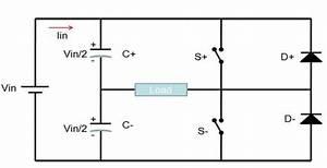 Circuit Of Half Bridge Inverter