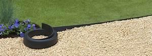 Bordure Plastique Jardin : bordure jardin plastique h 9 cm x 15 m noire ~ Premium-room.com Idées de Décoration