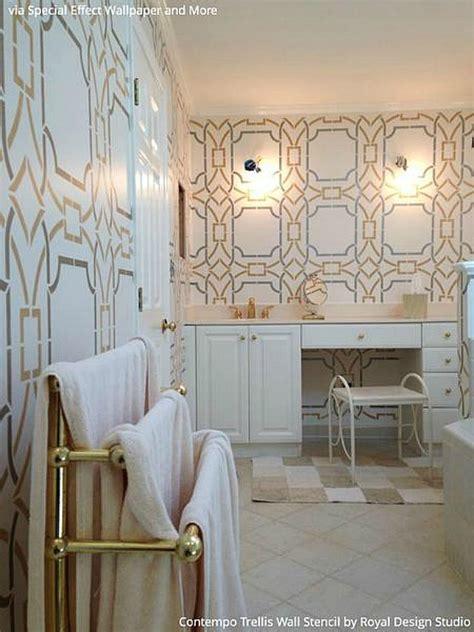 Interior Design Trend Art Deco Wallpaper & Wall Stencils