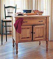 large kitchen cabinets deposit christine only vintage bakery baker s table 3655