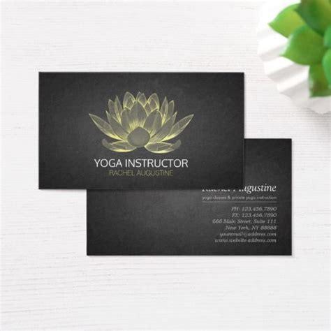 elegant glowing gold lotus grunge yoga instructor business