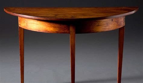 table ronde demi lune demi lune table just folk