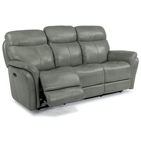 power reclining sofa with usb ports flexsteel latitudes zoey power reclining sofa with power