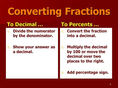 converting a percentage to a fraction in simplest form calculator objective explain the numerical relationships between