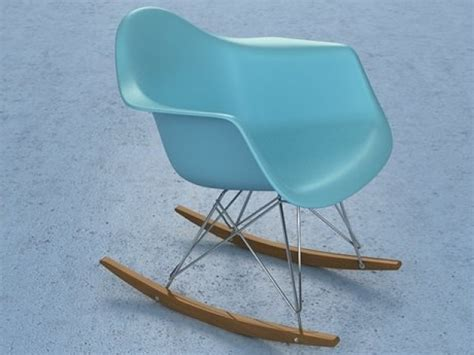 Eames Plastic Armchair Rar 3d Model