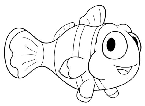 cartoon clownfish step  step drawing lesson