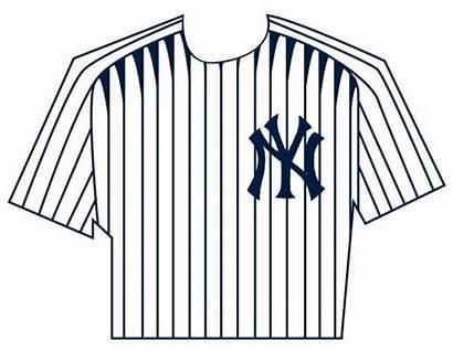 Yankees Shirt Clipart Jersey Fixin York Uniform