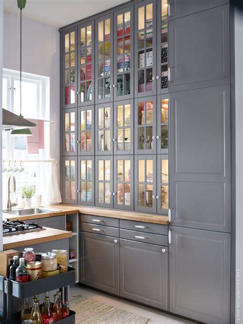 ikea kitchen storage metod k 246 k med bodbyn luckor och l 229 dfronter k 246 k 1797