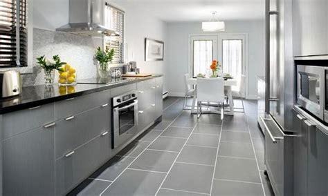 Amazing White And Gray Countertops White Kitchen