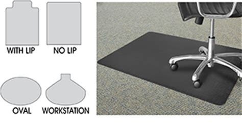 carpet chair mats in stock uline