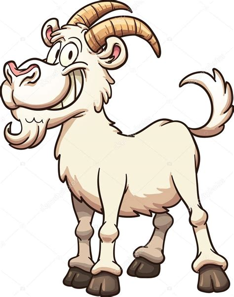 cartoon goat stock vector  memoangeles