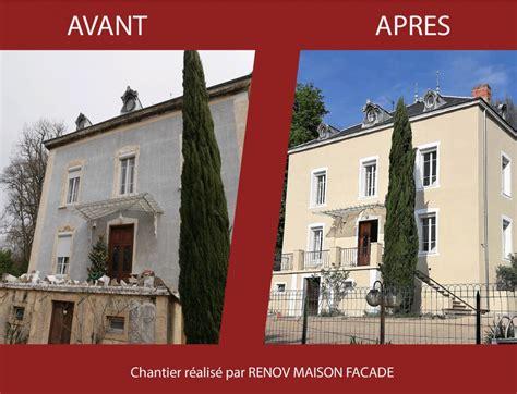 Facade Avant Apres by Nos R 233 Alisations De R 233 Novations De Maisons