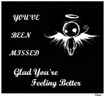 Glad You Are Feeling Better Quotes Quotesgram