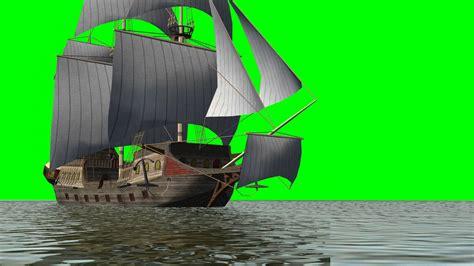 Boat Green Screen by Historic Sailing Ship Green Screen
