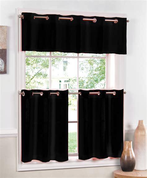 jackson grommet kitchen curtains black lorraine close