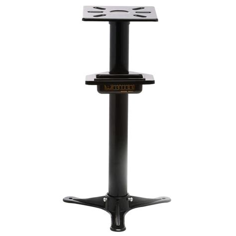 bench grinder stand black bull 31 in bench grinder stand bgstand the home depot