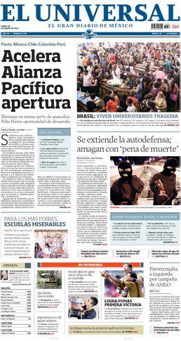 esta es la linea: PRENSA MEXICO LUNES 28 DE ENERO 2013