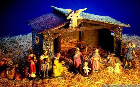 christmas nativity scene wallpaper   hd