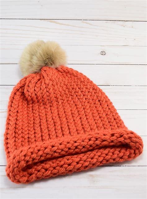 loom knit  cap  wrap method dream   bigger
