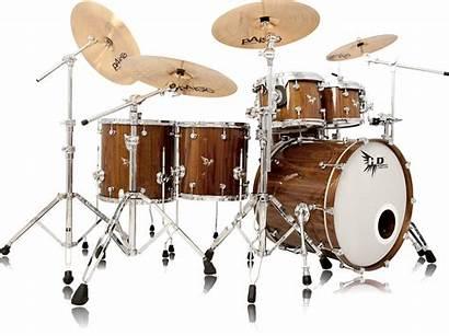 Drum Drums Kit Hendrix Transparent Custom Kits