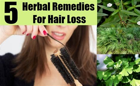 5 Hair Loss Herbal Remedies, Natural Treatments And Cure
