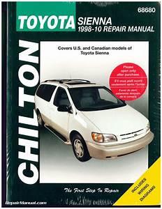 Chilton Toyota Sienna 1998