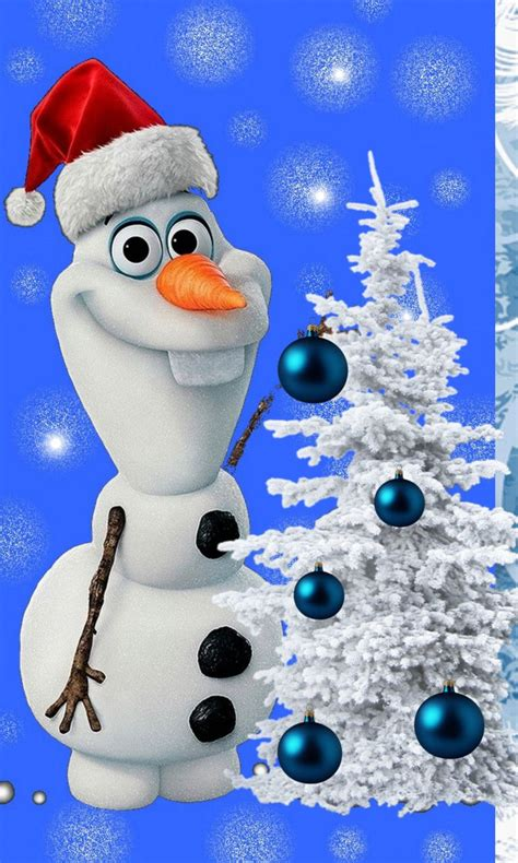 We offer an extraordinary number of hd images that will instantly freshen up your smartphone or. Christmas Olaf Wallpapers Backgrounds - WallpaperSafari | Christmas phone wallpaper